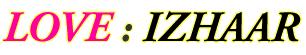 Love : Izhaar